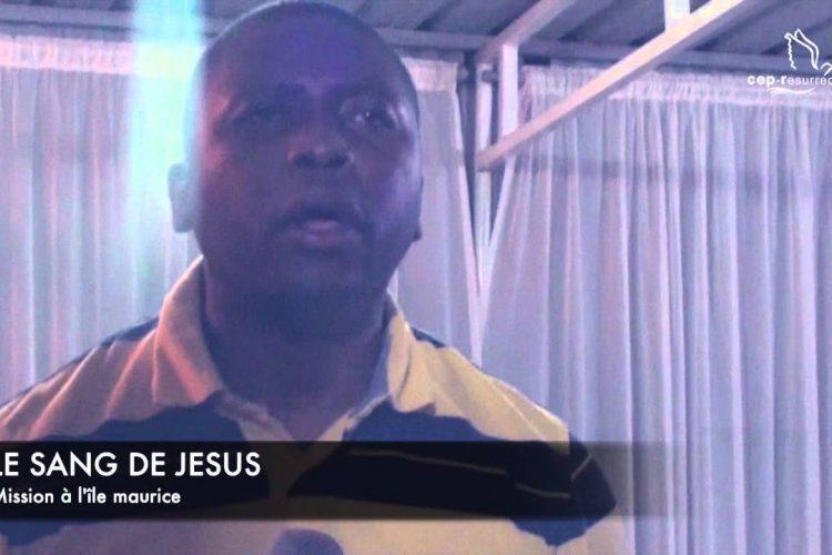 Le sang de Jesus (Ile Maurice)