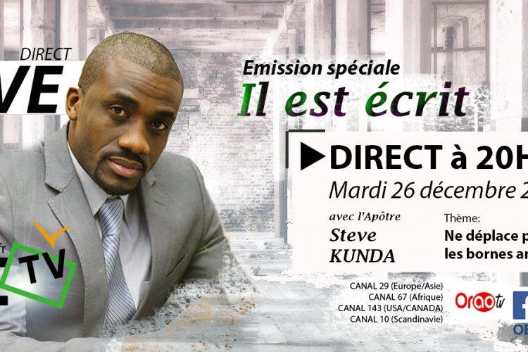 Ne déplace pas les bornes - OEtv - Steve Kunda