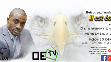 OETV – Détermination et persévérance – Steve Kunda