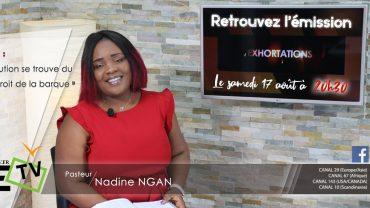 Pasteur nadine NGAN – Ta solution se trouve… daté