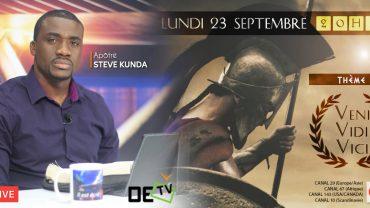 Veni vidi vci – Ap Steve Kunda